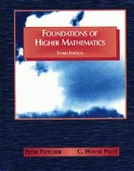 Foundations of Higher Mathematics 3rd edition 9780534951665 053495166X