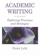 Academic Writing 2nd edition 9780521657686 0521657687