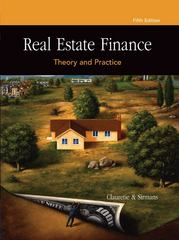 Real Estate Finance 5th edition 9780324305500 0324305508