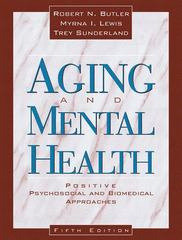 Aging and Mental Health 5th Edition 9781416400004 1416400001