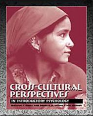 Cross-Cultural Perspectives in Introductory Psychology (with InfoTrac) 4th edition 9780534546533 0534546536