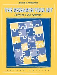 The Research Tool Kit 2nd edition 9780534407032 053440703X