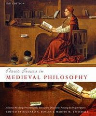 Basic Issues in Medieval Philosophy 2nd edition 9781551117157 1551117150