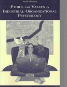 Ethics and Values in Industrial-Organizational Psychology 0 9781135666255 1135666253