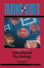 Taking Sides: Clashing Views in Educational Psychology 5th Edition 9780073515212 0073515213