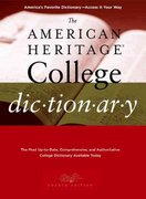 The American Heritage College Dictionary 4th Edition 9780618835959 0618835954