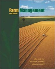 Farm Management 5th edition 9780072428681 0072428686