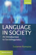 Language in Society: An Introduction to Sociolinguistics 2nd Edition 9780191593871 0191593877