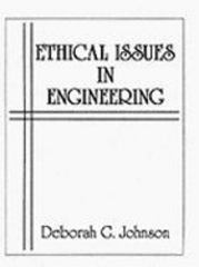Ethical Issues in Engineering 1st edition 9780132905787 0132905787
