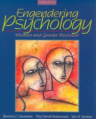 Engendering Psychology 2nd Edition 9781317348689 1317348680