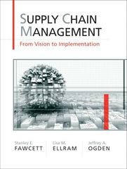 Supply Chain Management 1st edition 9780131015043 0131015044