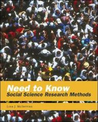 Need to Know 1st edition 9780767413176 0767413172