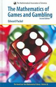 The Mathematics of Games and Gambling 2nd edition 9780883856468 0883856468