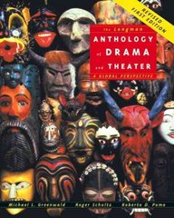 The Longman Anthology of Drama and Theater 1st edition 9780321291387 0321291387