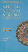 Clinical Handbook for Medical-Surgical Nursing 3rd edition 9780130483973 0130483974
