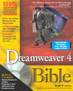 Dreamweaver 4 Bible 1st edition 9780764535697 0764535692