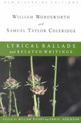 Lyrical Ballads and Related Writings 1st edition 9780618107322 0618107320