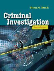 Criminal Investigation 2nd edition 9780205503704 0205503705