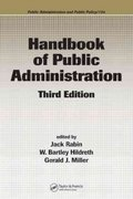 Handbook of Public Administration, Third Edition 3rd edition 9781574445602 157444560X