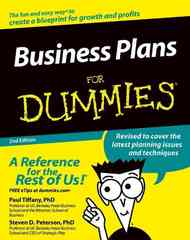 Business Plans For Dummies 2nd edition 9780764576522 0764576526
