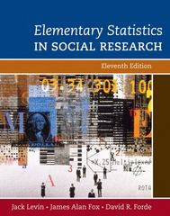 Elementary Statistics in Social Research 11th edition 9780205570690 0205570690