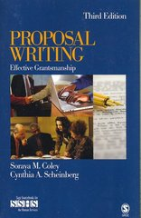 Proposal Writing 3rd Edition 9781412937757 1412937752