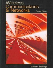 Wireless Communications & Networks 2nd Edition 9780131918351 0131918354