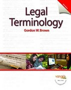 Legal Terminology 5th edition 9780131568044 0131568043