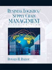 Business Logistics/Supply Chain Management and Logware CD Package 5th Edition 9780131076594 0131076590