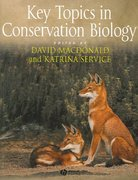 Key Topics in Conservation Biology 1st edition 9781405122498 1405122498