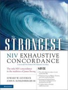Strongest NIV Exhaustive Concordance 1st Edition 9780310262855 0310262852