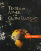 Textiles and Apparel in the Global Economy 3rd edition 9780136472803 013647280X