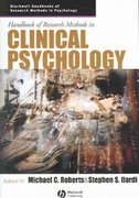 Handbook of Research Methods in Clinical Psychology 1st edition 9781405132794 1405132795