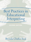 Best Practices in Educational Interpreting 2nd Edition 9780205386024 0205386024
