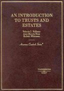 An Introduction to Trusts and Estates 0 9780314211521 0314211527