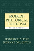 Modern Rhetorical Criticism 3rd edition 9780205377992 0205377998