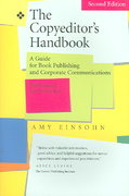 The Copyeditor's Handbook 2nd edition 9780520246881 0520246888