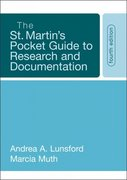 The St. Martin's Pocket Guide to Research and Documentation 4th edition 9780312442255 0312442254