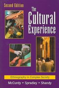 The Cultural Experience 2nd Edition 9781478617617 1478617616