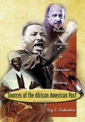 Sources of the African-American Past 2nd edition 9780321162168 0321162161