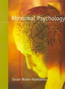 Abnormal Psychology 4th edition 9780073366036 007336603X