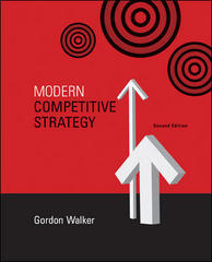 Modern Competitive Strategy with Online Access Card 2nd Edition 9780073279336 0073279331