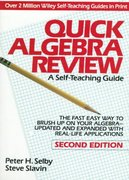 Quick Algebra Review 2nd edition 9780471578437 0471578436