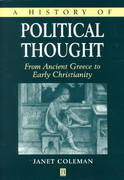 A History of Political Thought 1st edition 9780631218227 063121822X