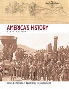 America's History, Combined Volume 6th edition 9780312443504 0312443501