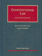 Constitutional Law 14th edition 9781566629072 1566629071