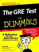 The GRE Test For Dummies 5th edition 9780764554735 0764554735