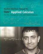 Student Solutions Manual for Tan's Applied Calculus for the Managerial, Life, and Social Sciences, 7th 7th edition 9780495119364 0495119369