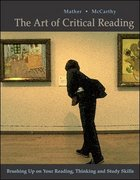 The Art of Critical Reading 1st edition 9780072413762 007241376X