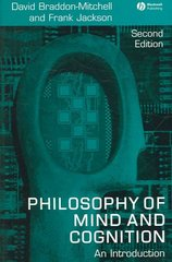Philosophy of Mind and Cognition 2nd edition 9781405133241 1405133244